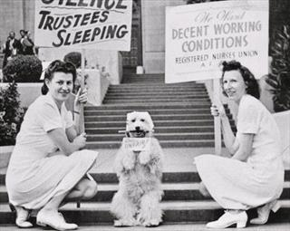 Two Members of the Registered Nurses Union